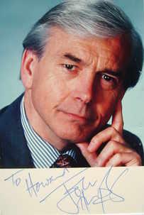 John Humphrys autograph