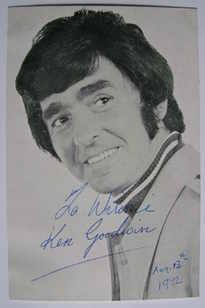 Ken Goodwin autograph