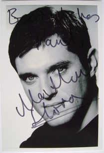 Mathew Horne autograph