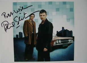 Philip Glenister autograph