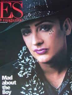 <!--2001-11-30-->Evening Standard magazine - Boy George cover (30 November