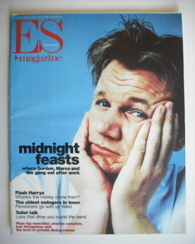 Evening Standard magazine - Gordon Ramsay cover (6 November 1998)