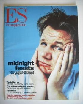 Evening Standard magazine - Gordon Ramsay cover (6 November 1998)