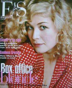 <!--2003-06-27-->Evening Standard magazine - Rosamund Pike cover (27 June 2