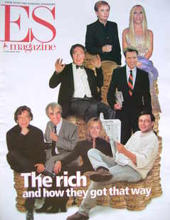 <!--2001-11-16-->Evening Standard magazine - The Rich and How They Got That