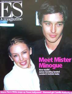 <!--2001-12-21-->Evening Standard magazine - Kylie Minogue and James Goodin