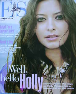 <!--2003-06-20-->Evening Standard magazine - Holly Valance cover (20 June 2
