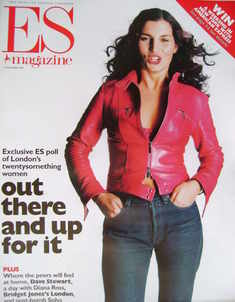<!--1999-11-19-->Evening Standard magazine - Out There And Up For It cover