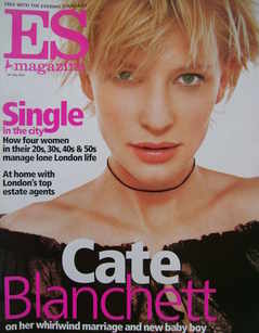 <!--2002-07-26-->Evening Standard magazine - Cate Blanchett cover (26 July