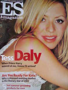 <!--2002-06-28-->Evening Standard magazine - Tess Daly cover (28 June 2002)