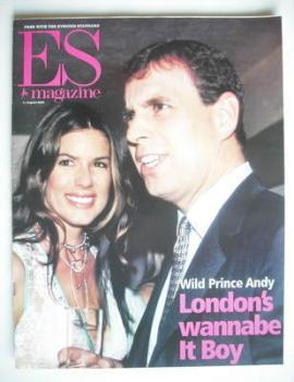 Evening Standard magazine - Prince Andrew and Christina Estrada cover (11 August 2000)