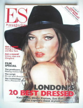 Evening Standard magazine - Kate Moss cover (12 February 1999)