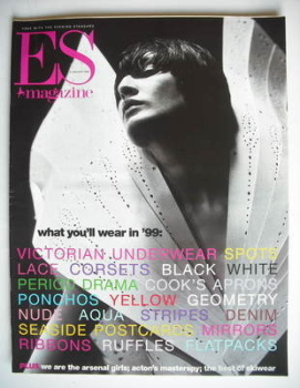 Evening Standard magazine - What You'll Wear In '99 cover (8 January 1999)