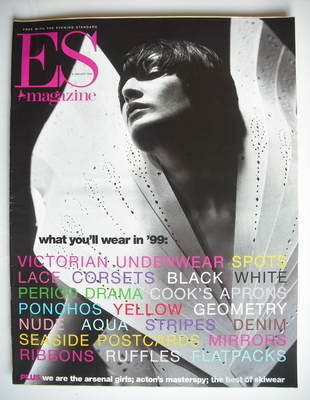 <!--1999-01-08-->Evening Standard magazine - What You'll Wear In '99 cover