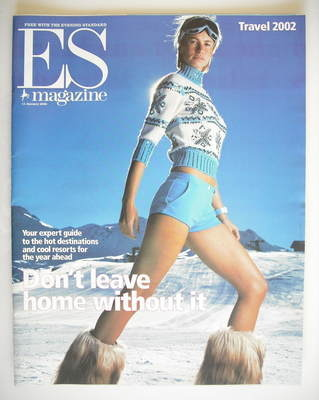 <!--2002-01-11-->Evening Standard magazine - Don't Leave Home Without It co