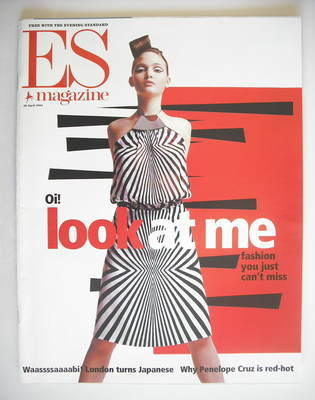 <!--2001-04-20-->Evening Standard magazine - Look At Me cover (20 April 200