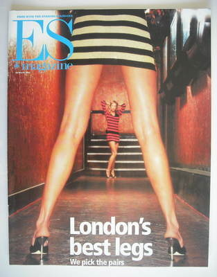 <!--2001-03-30-->Evening Standard magazine - London's Best Legs cover (30 M