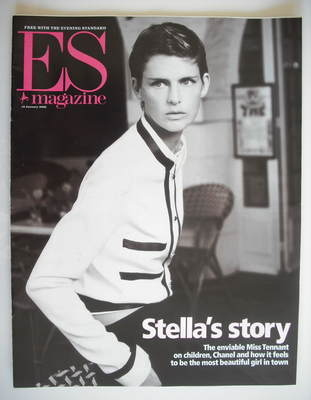 <!--2002-01-18-->Evening Standard magazine - Stella McCartney cover (18 Jan