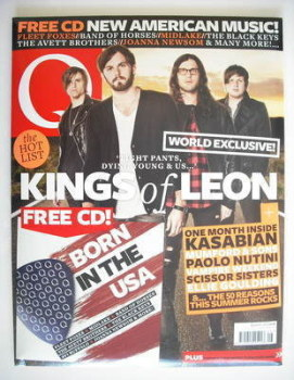 Q magazine - Kasabian / Kings Of Leon cover (August 2010)