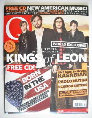 <!--2010-08-->Q magazine - Kasabian / Kings Of Leon cover (August 2010)