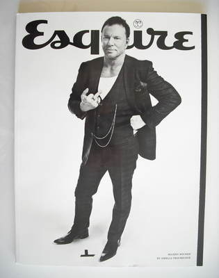 <!--2010-09-->Esquire magazine - Mickey Rourke cover (September 2010 - Subs