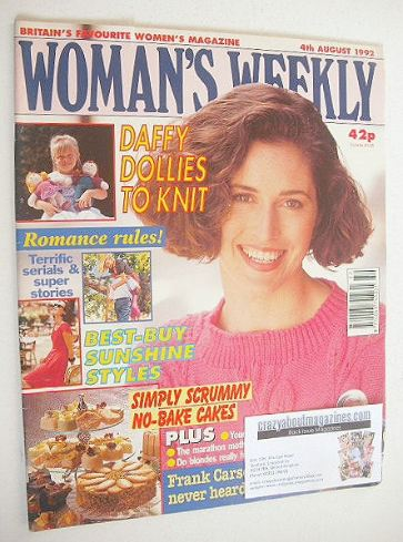 <!--1992-08-04-->Woman's Weekly magazine (4 August 1992)