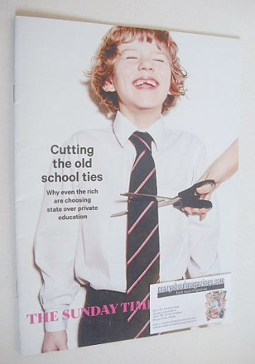<!--2016-02-07-->The Sunday Times magazine - Cutting The Old School Ties co