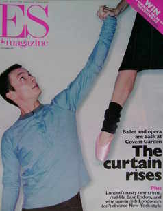 Evening Standard magazine - The Curtain Rises cover (3 December 1999)