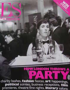 <!--1999-11-12-->Evening Standard magazine - How London Throws A Party cove