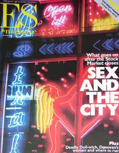 <!--1999-10-22-->Evening Standard magazine - Sex And The City cover (22 Oct
