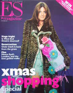 <!--1999-11-26-->Evening Standard magazine - Claudia Winkleman cover (26 No