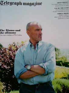 <!--2010-09-04-->Telegraph magazine - Phil Collins cover (4 September 2010)