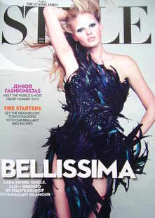 <!--2010-08-29-->Style magazine - Lara Stone cover (29 August 2010)