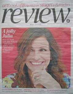 The Daily Telegraph Review newspaper supplement - 28 August 2010 - Julia Ro