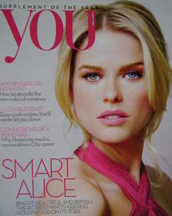 <!--2010-04-04-->You magazine - Alice Eve cover (4 April 2010)