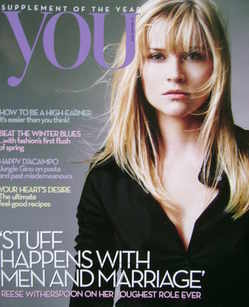 <!--2010-01-10-->You magazine - Reese Witherspoon cover (10 January 2010)