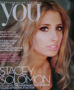 <!--2010-01-24-->You magazine - Stacey Solomon cover (24 January 2010)