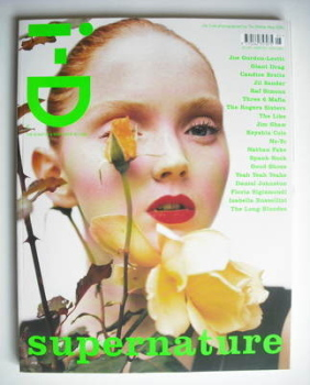 i-D magazine - Lily Cole cover (May 2006)