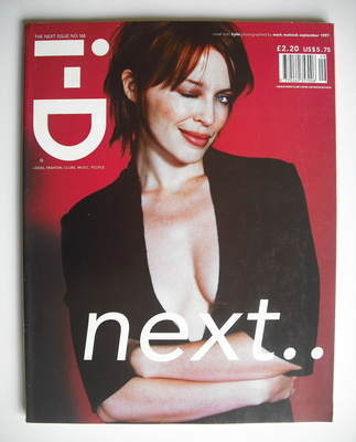 <!--1997-09-->i-D magazine - Kylie Minogue cover (September 1997)