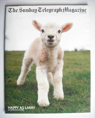 The Sunday Telegraph magazine - A Lamb At Easter cover (31 March 2002)