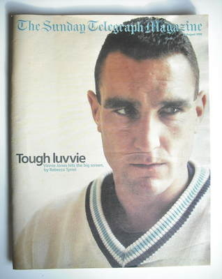 The Sunday Telegraph magazine - Vinnie Jones cover (16 August 1998)