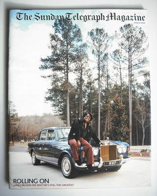 The Sunday Telegraph magazine - James Brown cover (3 March 2002)