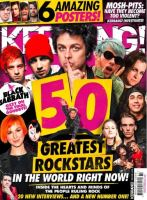 <!--2017-02-18-->Kerrang magazine - 50 Greatest Rockstars cover (18 February 2017 - Issue 1658)
