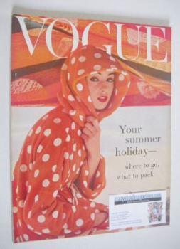British Vogue magazine - May 1957 (Vintage Issue)