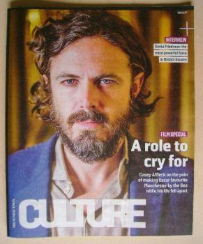 Culture magazine - Casey Affleck cover (8 January 2017)