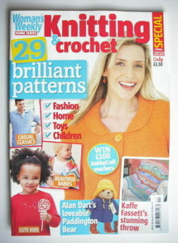 Woman's Weekly Knitting and Crochet Special magazine (Spring 2010)