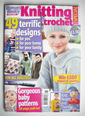 <!--2009-09-->Woman's Weekly magazine - Knitting and Crochet Special (Autum