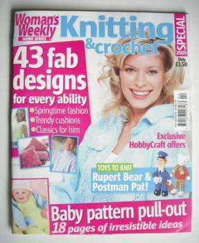 Woman's Weekly Knitting and Crochet Special magazine (Spring 2009)