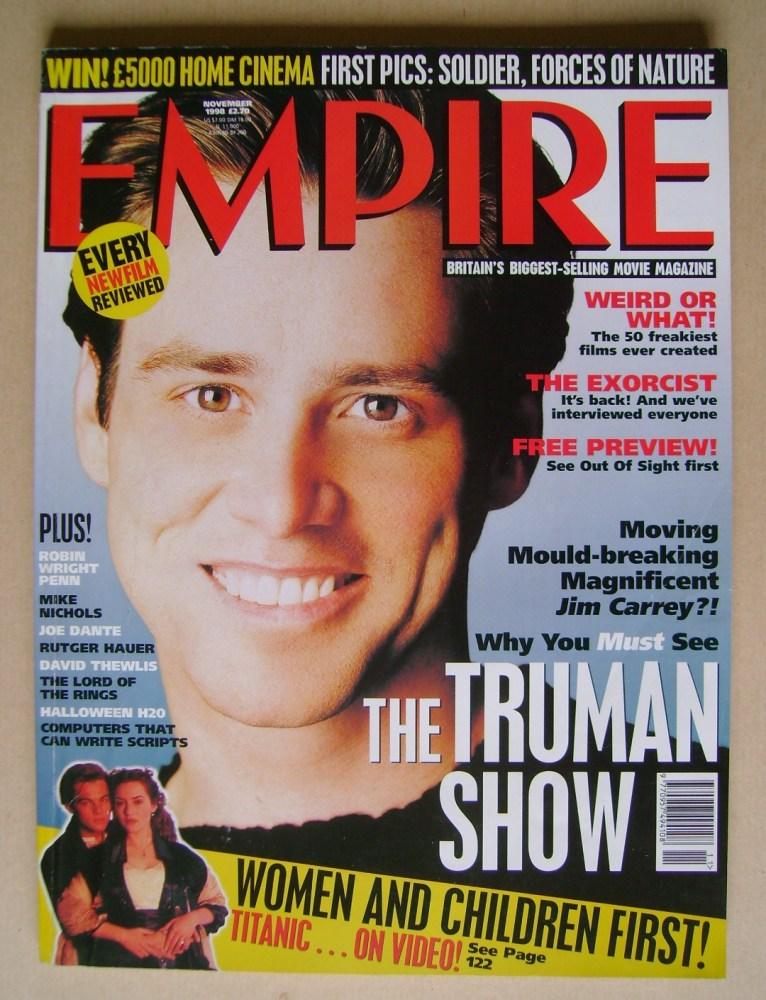 <!--1998-11-->Empire magazine - Jim Carrey cover (November 1998 - Issue 113