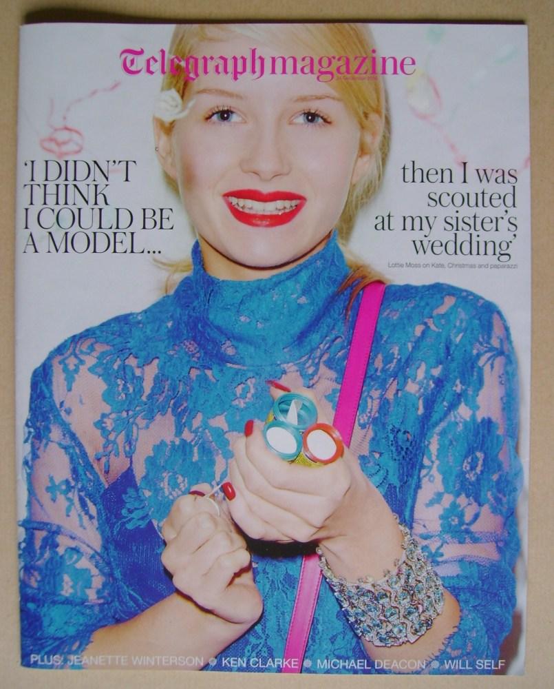 <!--2016-12-24-->The Daily Telegraph magazine - Lottie Moss cover (24 Decem